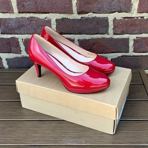 Cole Haan Chelsea Low Pump Red Size 6